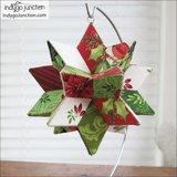 Fabri Flair Radiant Star-Small dimensional paper piecing kit_