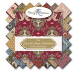 Penny Rose Fabrics The Era Of Jane groen streep_