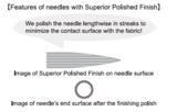 Tulip Milliners Needles (Applicatie/modisten naalden) maat 10_
