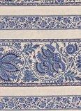 Dutch Heritage Gujarat randstof ecru blauw_