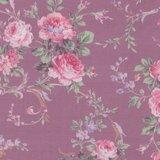 Quilt Gate RURU Bouquet paars roze roos middel_