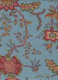 Dutch Heritage Arabesque blauw bloem_