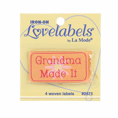Lovelabels: Grandma Made It