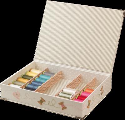 Quilt Spool Box, kartonnage pakket