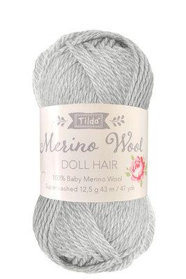 Tilda wol voor poppenhaartjes Fog