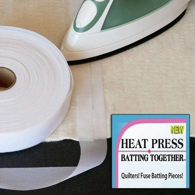 Heat Press Batting Together 15 yd rol