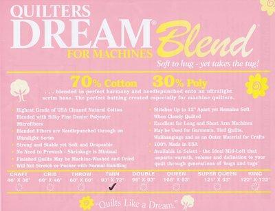 QD Dream Blend 70/30 Rol