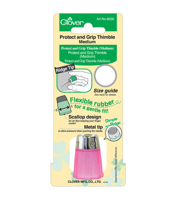 Clover Protect and Grip vingerhoed medium