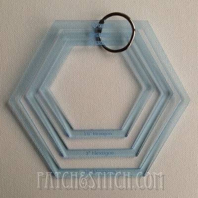 Imprezzio Template Set Hexagons Groot