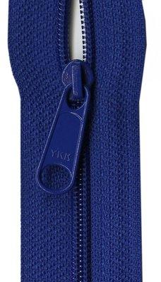 YKK rits 22 inch (55cm) royal blue