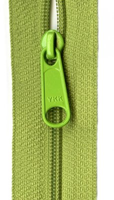 YKK rits 22 inch (55cm) pear green