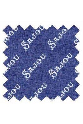 Sajou stof fatquarter blauw
