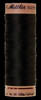 Mettler Silk Finish Cotton 40, 4000 zwart