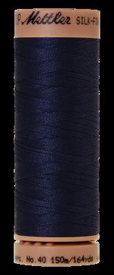 Mettler Silk Finish Cotton 40, 0825 navy