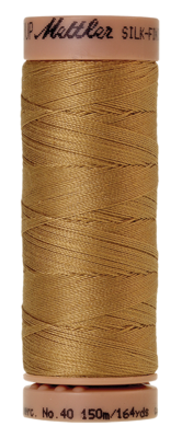 Mettler Silk Finish Cotton 40, 0261 geelbruin