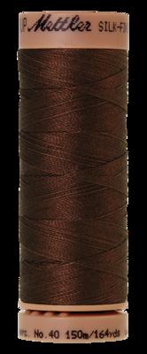 Mettler Silk Finish Cotton 40, 0173 warm bruin