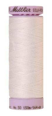 Mettler Silk Finish Cotton 50, 2000 wit