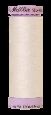Mettler Silk Finish Cotton 50, 3000 roomwit