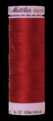 Mettler Silk Finish Cotton 50, 0105 rood