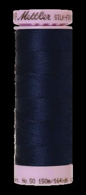 Mettler Silk Finish Cotton 50, 0825 navy