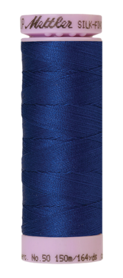 Mettler Silk Finish Cotton 50, 1304 royal blauw