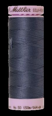 Mettler Silk Finish Cotton 50, 0311 grijsblauw