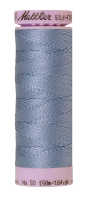 Mettler Silk Finish Cotton 50, 0350 licht grijsblauw