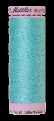 Mettler Silk Finish Cotton 50, 2792 aquablauw