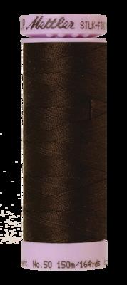 Mettler Silk Finish Cotton 50, 1002 bruin