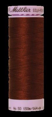 Mettler Silk Finish Cotton 50, 0173 roestbruin