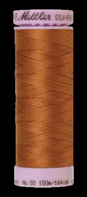 Mettler Silk Finish Cotton 50, 0899 geelbruin
