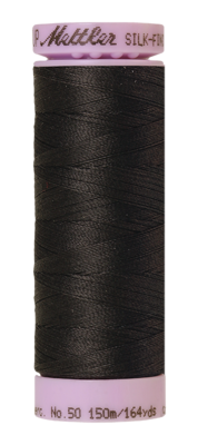 Mettler Silk Finish Cotton 50, 1282 antraciet