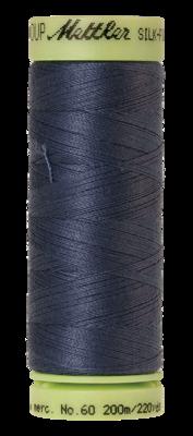 Mettler Silk Finish Cotton 60, 0311 staal blauw