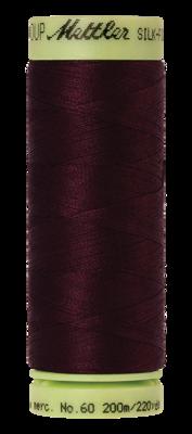 Mettler Silk Finish Cotton 60, 0111 bordeaux rood