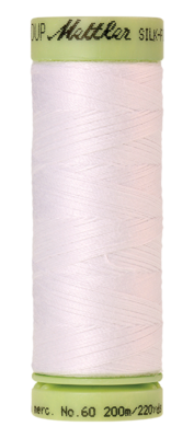 Mettler Silk Finish Cotton 60, 2000 wit