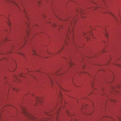 Maywood Studio rood scroll dubbelbreed