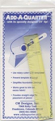 Add-A-Quarter liniaal 6 inch
