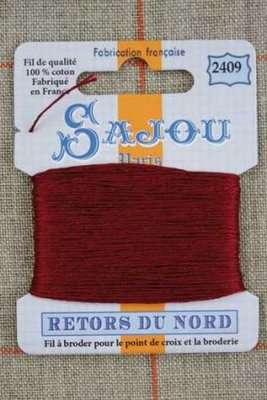 Sajou Retors Du Nord borduurgaren 2409 bordeaux