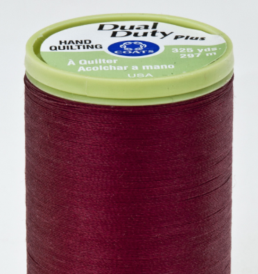Coats Dual Duty kleur 2820 Barberry Red