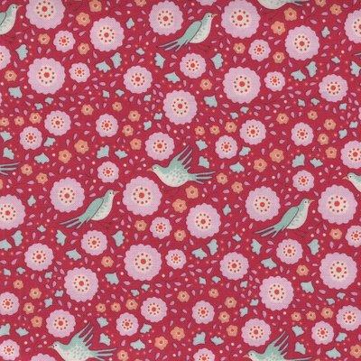 Tilda Bird Pond roze vogeltje