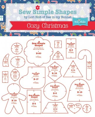 Sew Simple Shapes Cozy Christmas by Lori Holt