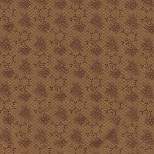 Marcus Fabrics Chatham Row bruin werkje