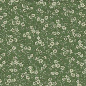 Marcus Fabrics Special Scraps groen bloemetje