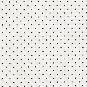 Maywood Beautiful Basics wit zwart stipje