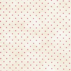 Maywood Beautiful Basics ecru roze stipje