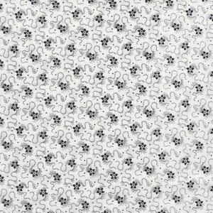 RJR Bare Essentials Deluxe wit zwart bloemetje