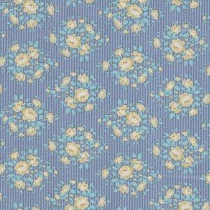 Tilda Happy Campers blauw geel roosje