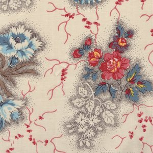 Dutch Heritage Flowers from the Past ecru bloem