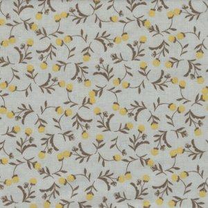 Windham Fabrics Tell The Bees grijs geel besje