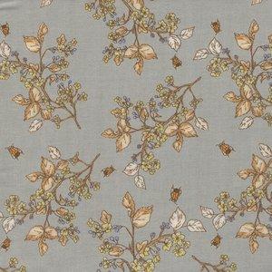 Windham Fabrics Tell The Bees grijs honingraad